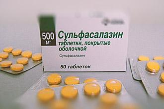 Сульфасалазин в таблетках