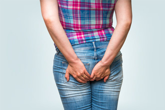 Диарея может вызвать жжение в заднем проходе